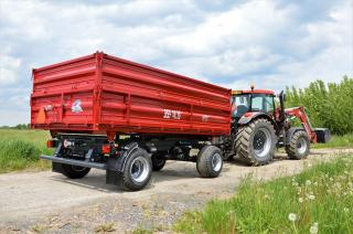 Traktorový přívěs BSS 14.10